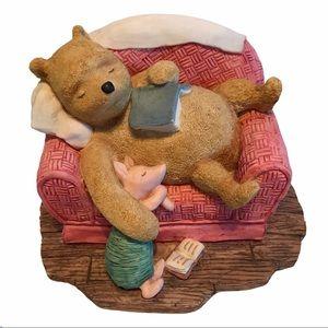 Classic Winnie The Pooh Sleeping Figurine